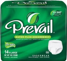 Prevail Super Plus Absorbency Pull-On Underwear #prevail #incontinence #incontinenceproducts #incontinencesupplies #seniorcare #adultdiapers