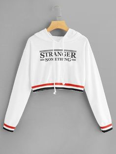 Sweat à capuche Stranger Things - Stranger things pullover hoodie sweatshirt Stranger Things Sweat à Hoodie Sweatshirts, Pullover Hoodie, Sweater Hoodie, Hoodies, Teen Fashion Outfits, Girl Outfits, Fashion Women, Stranger Things Hoodie, Stranger Things Clothing