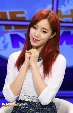 T-ara's EunJung and her pictures from her arrival and rehearsal at 'The Show' ~ T-ara World ~ 티아라