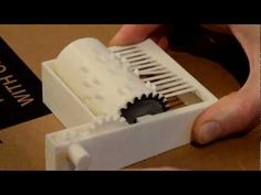 "Fully 3D printed Music Box: ""Frère Jacques"" Song"