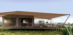 Tent Camping, Glamping, Plywood House, Tent Platform, Concept Models Architecture, Tent Living, Luxury Tents, Apartment Plans, Lodges