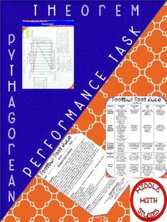 performance task pythagorean theorem ebook