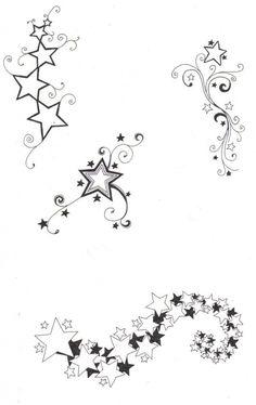 Tattooflash Stars Shadings 2face Tattoo On Deviantart Just with regard to Star…