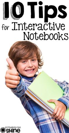 10 Interactive Notebook Tips 10 Interactive Notebook Tips - everything you need to know to get your class started with interactive notebooks! Interactive Student Notebooks, Science Notebooks, Reading Notebooks, Math Journals, Teacher Tools, Teacher Hacks, Teacher Binder, Coaching, School Classroom