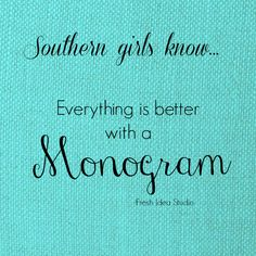 Southern girls know everything is better with a monogram! Even a mailbox! Personalize your Mailbox at Fresh Idea Studio. #DIY #monogram #mailboxmakeover