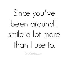 Cute romantic quotes & relationship quotes for him & that can make your heart melt. Impress your sweetheart with these lovable sayings. Flirting Quotes, Dating Quotes, Cute Crush Quotes, Crush Sayings, Love Quotes For Him Romantic, You Make Me Smile Quotes, Thankful Quotes For Him, Quotes About Love For Him, Romantic Sayings