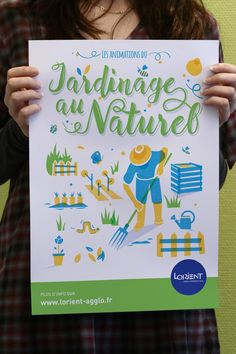 Une affiche générique, à la fois simple et design !