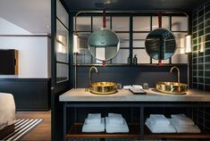 Located in the legendary nightlife district of WanChai, this independent boutique hotel in Hong Kong has had a complete overhaul, and boy does it look gorgeous. With help from the creative minds of design firm A Work of Substance, the hotel has tot