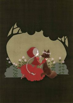 """""""Red Riding Hood"""" by 佳菜子 at pixiv.net"""