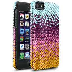 Cellairis by Elle & Blair Winter Glow Case for Apple iPhone 5 - Topaz