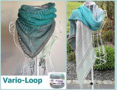 Jetzt mit nur einem Bobbel / Farbverlaufsgarn einen Schal / Loop stricken und die Kälte ist nicht mehr so schlimm. Probiers gleich mal aus mit dem PDF.