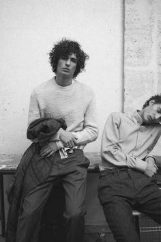 Piero Mendez & Dzhovani Gospodinov by Alex Franco - Varon Magazine