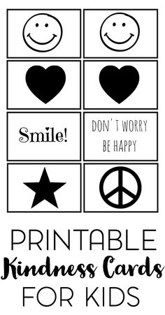 The simplest acts of kindness are free. Help your kids spread kindness with these free printable kindness cards for kids. Kindness Activities, Learning Activities, Teaching Kindness, Children Activities, Teaching Ideas, Printable Activities For Kids, Free Printables, Parenting Articles, Parenting Tips