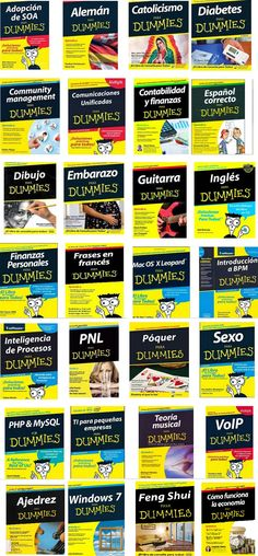 28 Libros para Dummies - PDF - Español - Ebook…