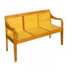 Bamboo Bench arm Style