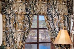 Realtree All Purpose Curtains and Valance- Camouflage Hunting Decor Camo Curtains, Valance Curtains, Valances, Bedroom Curtains, Rustic Curtains, Camo Furniture, Furniture Decor, Future House, My House
