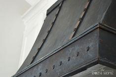 diy bronze range hood, how to, kitchen design, painting