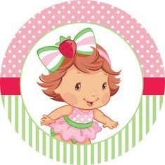 Free Strawberry Shortcake Cartoon Baby Characters Are On A Transparent Background Strawberry Shortcake Characters, Strawberry Shortcake Party, Strawberry Baby, Baby Illustration, Baby Clip Art, Baby Drawing, Chibi Girl, Baby Images, Baby Cartoon