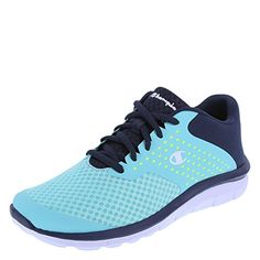 89fedf70535219 awesome Champion Women s Turquoise Lime Navy Women s Gusto Cross Trainer  8.5 Regular Champion Shoes