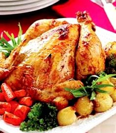 Baked Whole Chicken Recipes-different flavors than others I've seen.