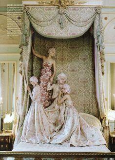 Kate Moss by Grace Coddington