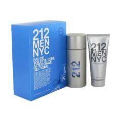 212 by Carolina Herrera Gift Set  33 oz Eau De Toilette Spray  33 oz After Shave Gel *** Visit the image link more details.
