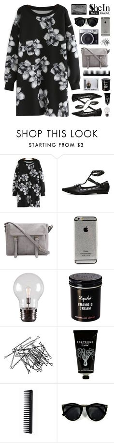 """SheIn 6"" by novalikarida ❤ liked on Polyvore featuring moda, Kenroy Home, H&M, TokyoMilk, GHD y Sheinside"