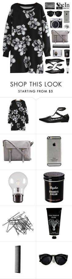 """SheIn 6"" by novalikarida ❤ liked on Polyvore featuring moda, Kenroy Home, H&M, TokyoMilk, GHD y Sheinside"