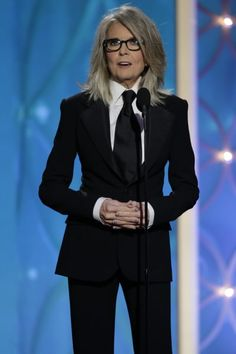 I cannot BELIEVE Ellen Page is not on this list. Diane Keaton is f***ing fierce. 33 Women Who've Rocked Suits Better Than Men Diane Keaton, Looks Style, My Style, Masculine Style, Androgynous Fashion, Celebs, Celebrities, Look Chic, Mode Outfits