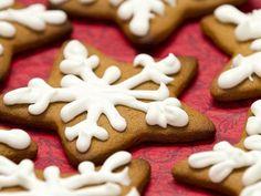 Gingerbread Snowflake Cookies  #lulusholiday