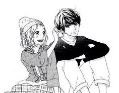Imagen de anime, manga, and strobe edge Romantic Anime Couples, Romantic Manga, Cute Couples, Shugo Chara, Strobe Edge Manga, Futaba Y Kou, Manga Mania, Otaku Problems, Blue Springs Ride