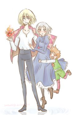Howl's Family by *pearsfears on deviantART