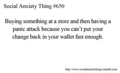 YES, they give you a handful of notes and coins then hold out your receipt all while the person behind you is waiting and you just stuff everything in your wallet and run