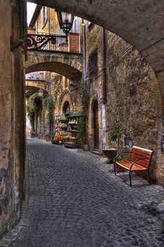Orvieto, Italy Look for the father and son who make wine in their basement right in the middle of town.