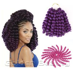8-10inch jumpy wand curl Crochet Braids Crochet Hair Extensions jamaican havana mambo twist braiding hair * You can find more details by visiting the image link.