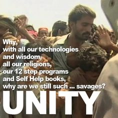 We have so many incredible #resources at our fingertips, teaching us more every day about the rest of the #world and opening our #eyes. Shouldn't this bring about a sense of #UNITY?  #DONATE TO THE #UNITYFILM #KICKSTARTER: http://kck.st/14wtCHl