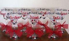 margarita glasses for bachelorette party