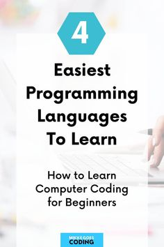 Are you looking for an easy programming language for beginners to learn this year? Congrats! Use this free comparison guide to find the best computer coding language for absolute beginners to make your learning experience as smooth and fast as possible. These languages are the most popular ones for web development, software development, and much more: JavaScript, Python, Ruby, and Java – perfect for learning how to code from scratch. #programming #coding #webdevelopment #tech #mikkegoes Computer Programming Languages, Coding Languages, Learn Programming, Learn Computer Coding, Best Computer, Computer Science, Learning Web, Learning Resources, Coding For Beginners