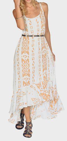 Mango tribal maxi dress