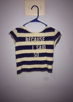 e79d5cadf45d7 Blue and White Striped Forever 21 Crop Top