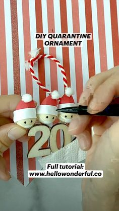 Halloween Crafts For Kids To Make, Christmas Crafts, Christmas Ornaments To Make, Christmas Holidays, Science Projects For Kids, Happy Birthday Jesus, Creative Crafts, Yule, Origami