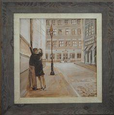 Kiss Me Kate  Acryllic On Canvas Painting