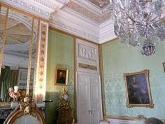 Zimmer Friedrich II in Schloss Sanssouci in Potsdam - aufgenommen und gepinnt vom Immobilien Büro in Hannover Makler arthax-immobilien.de