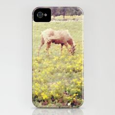 In a Field of Wildflowers iPhone Case by Laura George - $35.00