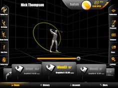 A new 3D swing analysis device attaches to your glove and provides instant feedback to an iPhone/iPad. http://golfdig.st/HOpuFf