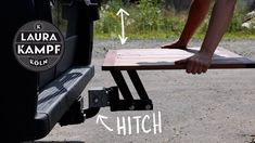 Camping Table, Very Clever, Science And Technology, Small Space, Camper, Legs, Youtube, Design, Small Spaces