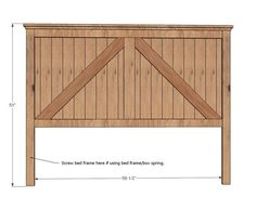 A While Back I Posted Plans For The Brookstone Bed In Twin Headboard
