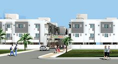 StepsStone presents Krishu Phase II, 44 luxury apartments in 2 blocks ranging from 586 to 1168 Sq. Ft. in sizes of 1BHK/2BHK/3BHK duplex encompassed in a close by convenience at Mannivakkam on vandalur GST Road,Chennai.