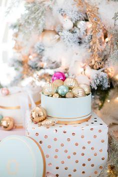 pastel christmas decor craftberrybush_-37