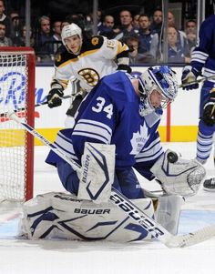 NHL Hockey Photos: Final statistics from the Boston vs. Toronto game played on February 2013 Hockey Live, James Reimer, Air Canada Centre, Tyler Seguin, Nhl Games, Toronto Maple Leafs, Boston Bruins, Espn, Leaves